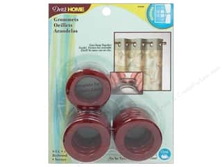 Dritz Home Curtain Grommets Medium 1 in. Round Redwood 8pc