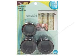 Dritz Home Curtain Grommets Medium 1 in. Round Metallic Camo 8pc