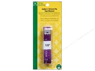 Measuring Tapes/Gauges: Quilter's Flip Tape Measure by Dritz Quilting 120 in. (3 piece)