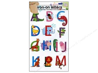 ABC & 123 Irons: Soft Flex Iron-on Letters Youth Alphabet by Dritz