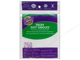 Glues, Adhesives & Tapes Doll Making: Aleene's Tacky Dot Singles Value Pack 250 pc.