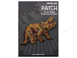 Patches Animals: C&D Visionary Applique Dinosaurs Triceratops