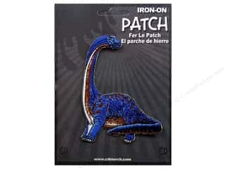 C&D Visionary Patch Dinosaurs Purple Brontosaurus