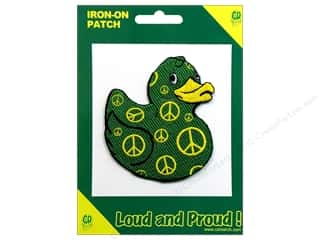 C & D Visionary C&D Visionary Stickers: C&D Visionary Applique Ducks Peace Duck