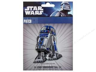 Patches Embroidered Appliques: C&D Visionary Applique Patch Star Wars Clone Wars R2D2