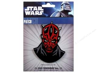 Clearance C&D Visionary Patches: C&D Visionary Applique Star Wars Darth Maul