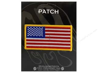 Patches Borders: C&D Visionary Applique Flags US Flag