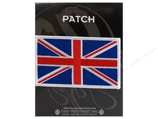 C & D Visionary $4 - $5: C&D Visionary Applique Flags British Flag