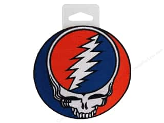 Patches Iron-On Appliques: C&D Visionary Applique Grateful Dead Steal Your Face