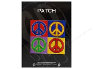 C&D Visionary Applique Peace Signs Four Peace