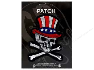 C&amp;D Visionary Patch Skulls US Skull