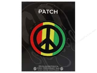 Patches Borders: C&D Visionary Applique Reggae and Rasta Rasta Peace