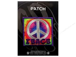 C&D Visionary Patch Peace Signs Psychedelic Peace