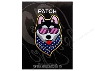 Patches Animals: C&D Visionary Applique Dogs Cool Dog