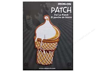 C&amp;D Visionary Patch 50&#39;s Retro Ice Cream Cone
