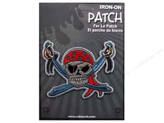 C&D Visionary Patch Pirates Pirate Skull