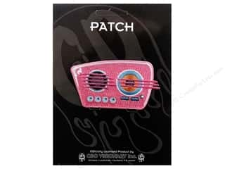 C&amp;D Visionary Patch  50&#39;s Retro Pink Radio