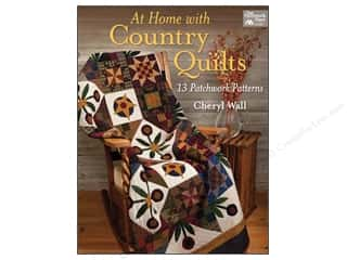 At Home With Country Quilts Book