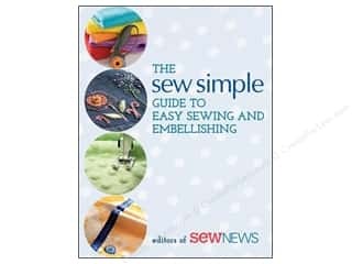 Sale: Sew Simple Guide To Easy Sewing & Embellish Book