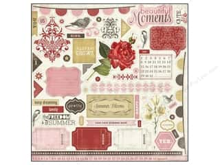 Carta Bella Sticker 12x12 Beautiful Moments Elemnt (15 piece)