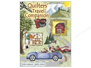 Best of 2012 Cosmo Cricket Glubers: Quilters Travel Companion 12th Edition 2012-2014