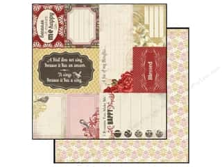 Carta Bella Paper 12x12 Beautiful Moments Thought (25 piece)