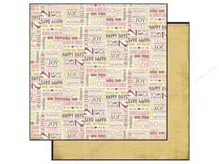 Carta Bella Paper 12x12 Beautiful Moments Happy (25 piece)