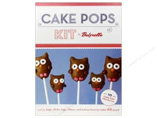 Baking Wraps / Cupcake Wrappers: Chronicle Boxed Cake Pops Kit