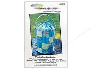 Purse Making Yarn & Needlework: Quilter By Night Designs What-Cha-Ma-Bucket Pattern
