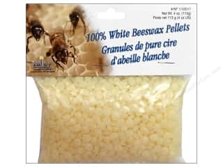 Yaley Wax Beeswax 100% Pellets 4oz White