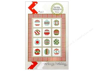 Patterns Fat Quarters Patterns: Thimble Blossoms Vintage Holiday Pattern