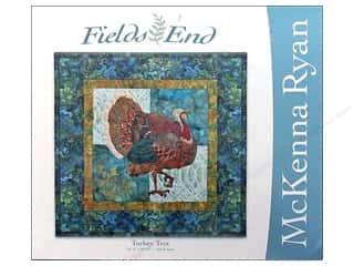 "Books & Patterns 16"": Pine Needles Fields End Turkey Trot Pattern"