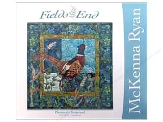 "Books & Patterns 16"": Pine Needles Fields End Pheasantly Surprised Pattern"