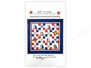 Beach & Nautical Clearance: Sweet Tea Girls Sail A Way Pattern