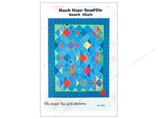 Sew Tea Girls Borders: Sweet Tea Girls Rush Hour Traffic Beach Style Pattern