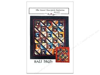 Quiltsillustrated.com Jelly Roll Patterns: Sweet Tea Girls Bali High Pattern