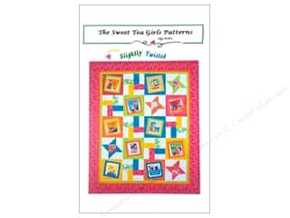 Gingham Girls Quilting Patterns: Sweet Tea Girls Slightly Twisted Pattern