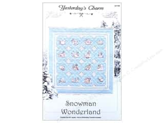 Sewing & Quilting Winter Wonderland: Yesterday's Charm Snowman Wonderland Pattern