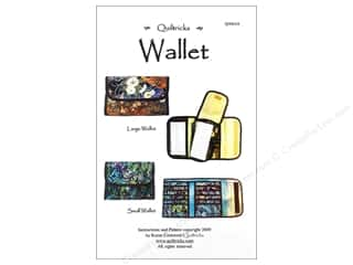 Quiltricks Quilt Patterns: Quiltricks Wallets Pattern