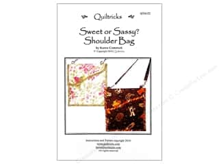 Seam Rippers Books & Patterns: Quiltricks Sweet Or Sassy Shoulder Bag Pattern