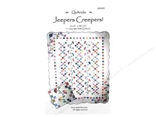 Quiltricks Flowers: Quiltricks Jeepers Creepers Pattern