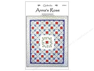 Quiltricks Flowers: Quiltricks Anna's Rose Pattern