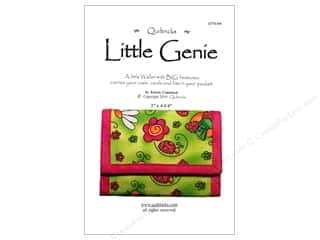 Quilted Trillium, The Purses, Totes & Organizers Patterns: Quiltricks Little Genie Wallet Pattern