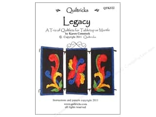 Clearance Clearance Patterns: Quiltricks Legacy Pattern