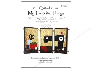 Favorite Things Clearance Patterns: Quiltricks My Favorite Things Pattern