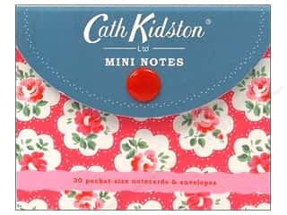 Cards &amp; Envelopes  2.5 x 2.5: Chronicle Stationery Cath Kidston Mini Notes 30pc
