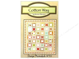 Seam Roll: Cotton Way Orange Marmalade Pattern