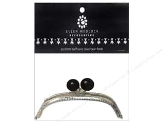 Ellen Medlock Frame Pochette Ball Black