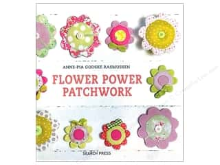Books Flowers: Search Press Flower Power Patchwork Book