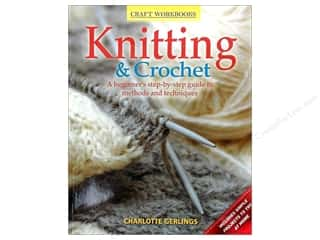 crochet books: Craft Workbooks Knitting & Crochet Book